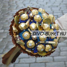 "Мужской букет из конфет №681 ""Меркурий"""